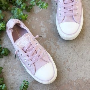 Converse Low Top Lavender Lilac Comfort Sneakers